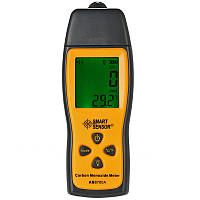 SMARTSENSOR AS8700A Handheld LCD Газоанализатор газа Анализатор окиси углерода Газовый детектор 0-1000 ppm Температурный тестер