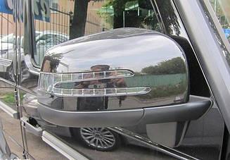 Зеркала Mercedes G-class W463 (черные)