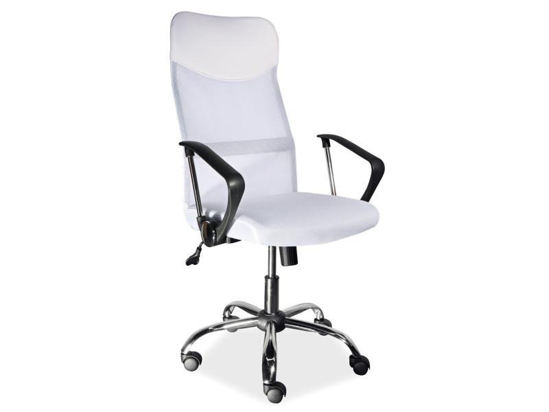 Компьютерное кресло Q-025 Signal белый