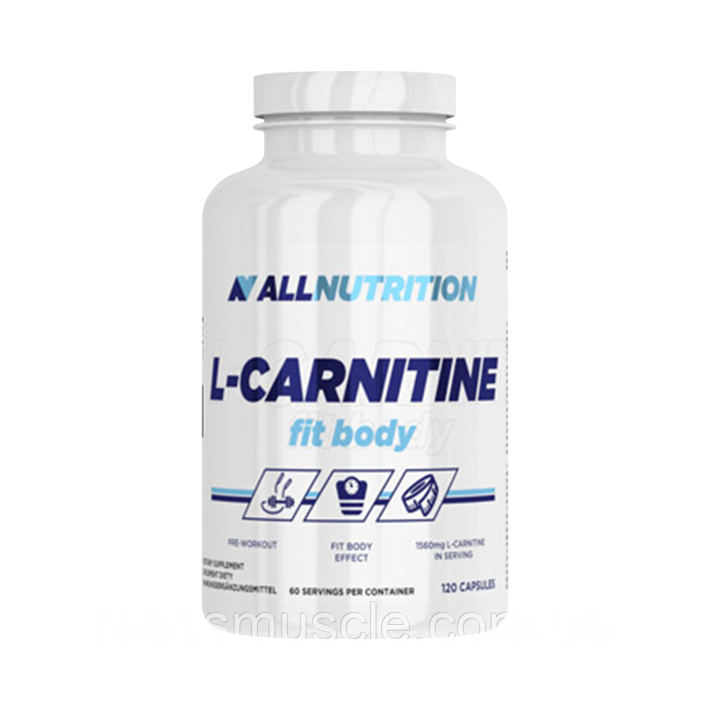 Жіросжігателя AllNutrition L-Carnitine Fit Body 120 caps