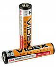 Батарейка солевая VIDEX R03P/AAA 4pcs SHRINK, фото 3