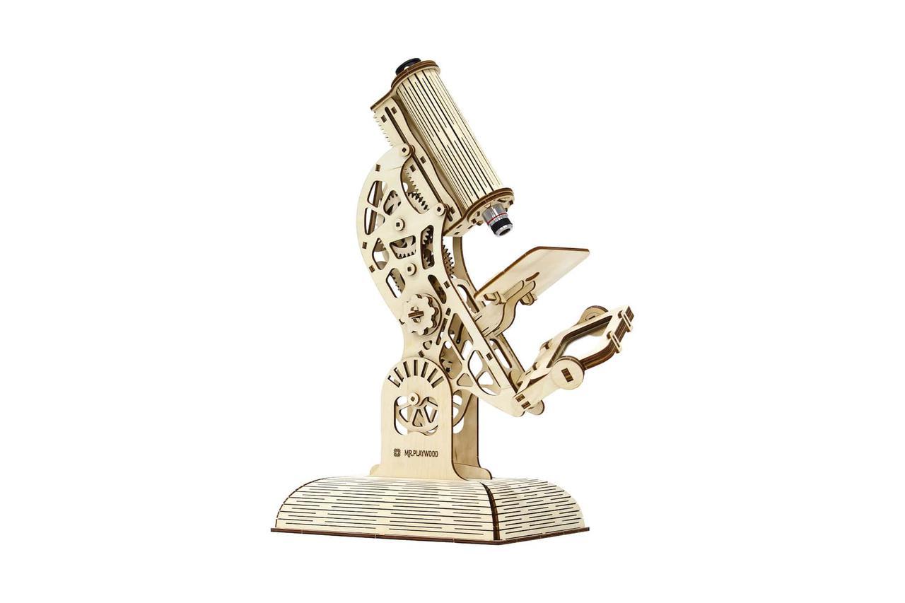 "Механічний конструктор ""Мікроскоп"" MR. PLAYWOOD"