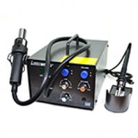 Паяльная станция Lukey 852D+, компрессорная с паяльником + фен