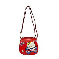 Сумка Детская (Hello Kitty) 6 Цветов Красный