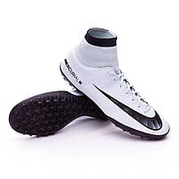 Бутсы футбольные для игры на жестких покрытиях муж. Nike MercurialX Victory VI CR7 DF TF (арт. 903612-401), фото 1
