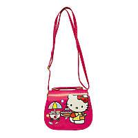 Сумка Детская (Hello Kitty) 6 Цветов Малиновый