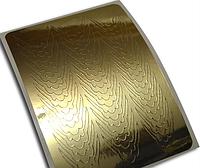 Слайдер дизайн для ногтей ZX7 золото