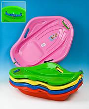 Санки детские пластиковые Ракушка (Мушля) (корыто)