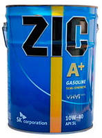 Моторное масло ZIC A+ 10W-40 20 литров