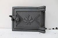 Дверца прочисная сажетруска чугунная 125х160