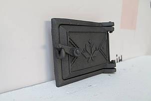 Дверца прочисная сажетруска чугунная 125х160, фото 2