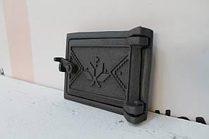 Дверца прочисная сажетруска чугунная 125х160, фото 3