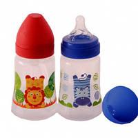 Бутылочка детская для кормления 250 мл Akuku