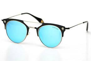 Женские солнцезащитные очки Versace модель 2168blue., фото 2
