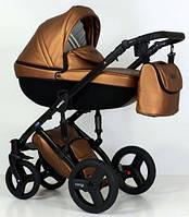 Детская коляска универсальная 2 в 1 Verdi Mirage Eco Premium gold (Верди Мираж, Польша)