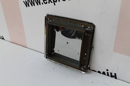 Дверца прочисная сажетруска нержавейка 210х210, фото 2