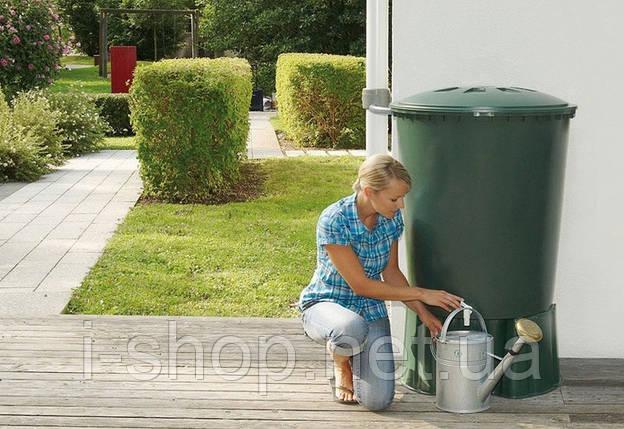 Емкость для дождевой воды WATER BUTT + BASE 200 L, фото 2