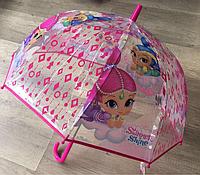 Зонтики Дисней для девочек оптом, арт. SH 17012