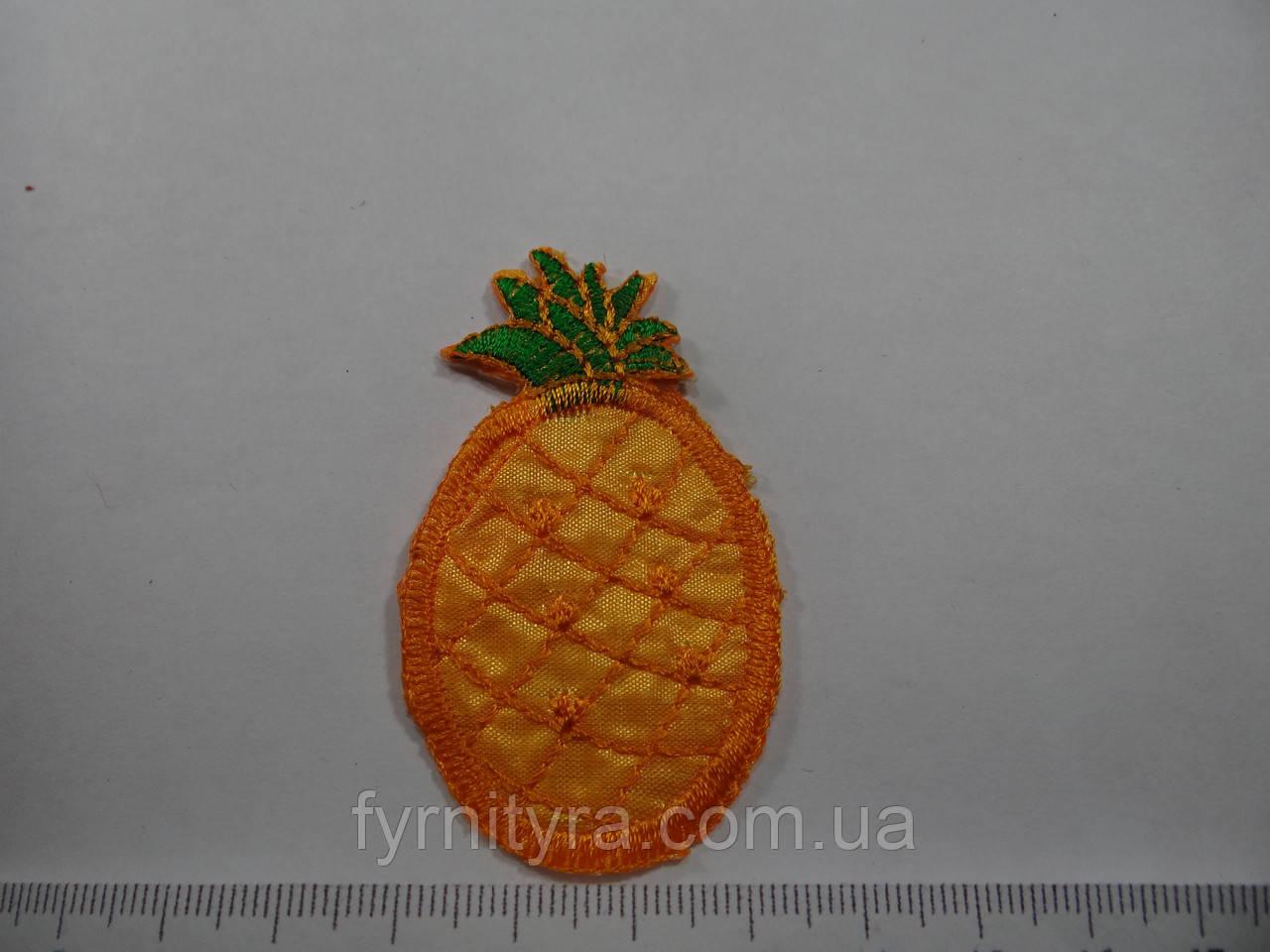 Аплікація дитяча термоклеевая овочі, фрукти