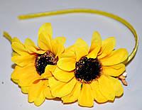 Обручи с цветами