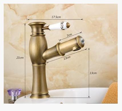 Смеситель для умывальника в ванную выдвижной 3-029