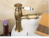 Смеситель для умывальника в ванную выдвижной 3-029, фото 3