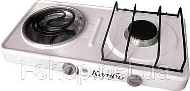 2-комфорочная электро-газовая плита «Комби»
