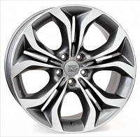 Литые диски WSP Italy BMW (W674) Aura anthracite polished W8.5 R18 PCD5x120 ET46 DIA74.1