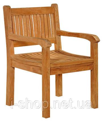 Тиковий стілець TE-02T, фото 2