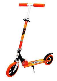 Двухколесный металлический Самокат Scooter 460 Оранжевый