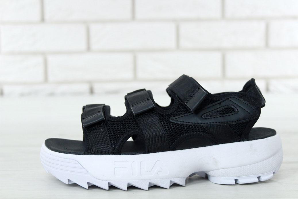 Женские Сандалии FILA Disruptor Sandals Black