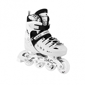 Ролики Scale Sport. White. р.29-33,34-37,38-41.