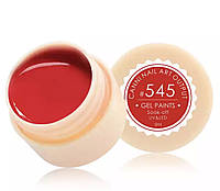 Гель-краска CANNI 545 (яркий красный), 5 мл