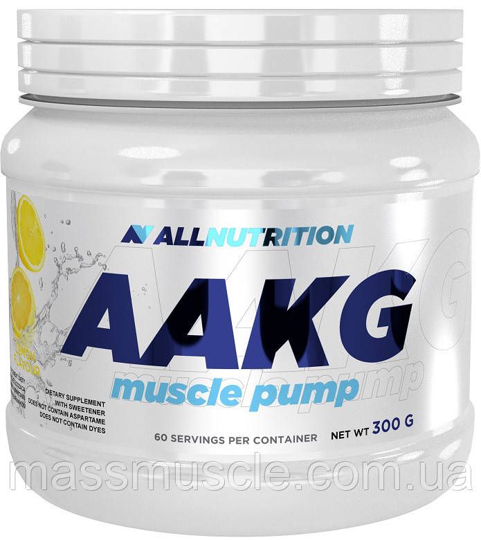 Аргинин AllNutrition AAKG Muscle Pump 300 g