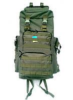 Рюкзак тактический 75 литров (зеленый, черный)