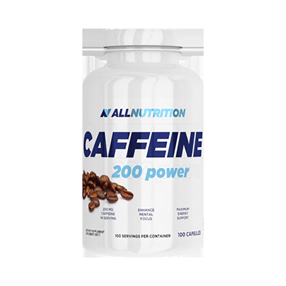 Кофеин AllNutrition Caffeine 200 power 100 caps