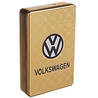 Электроимпульсная USB зажигалка VOL1 Золотистая (6842955510)