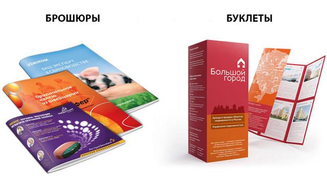 Буклет и брошюра в чем разница
