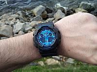 Наручные часы AAA Copy  Casio G-Shock GA-100CB-1AER Противоударные