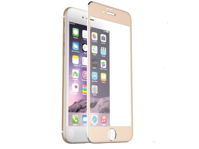 Защитное стекло Mocolo 4D для Apple iPhone 6/6S Gold