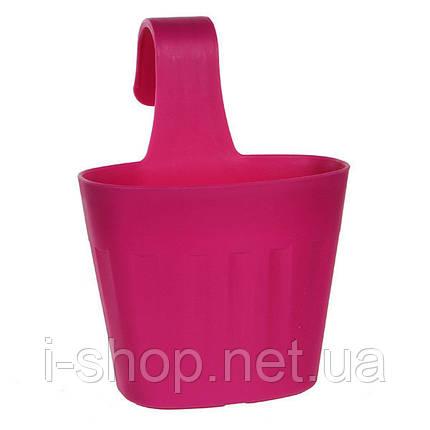 Горшок для цветов Fiorenza 3,8 л. розовый, фото 2