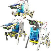 Конструктор робот на солнечной батарее 14 в 1