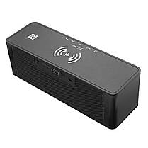 JY-28 Qi Беспроводное быстрое зарядное устройство Bluetooth NFC Поддержка динамика Часы TF карта USB AUX 1TopShop, фото 3