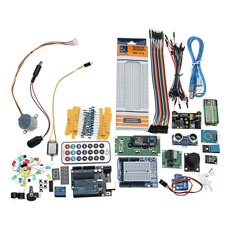 Суперпроект UNO R3 Стартер Набор С реле Jumper Макетная LED SG90 Сервопривод Для Arduino - 1TopShop