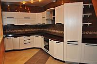 Шпон кухня под заказ, фото 1