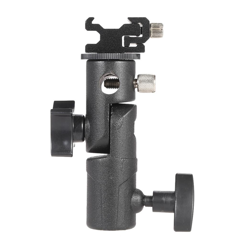 E Тип Универсальная металлическая вспышка Hot Shoe Speedlite Держатель для зонтов с подставкой с креплением Болт 1TopShop