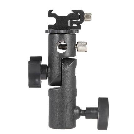 E Тип Универсальная металлическая вспышка Hot Shoe Speedlite Держатель для зонтов с подставкой с креплением Болт 1TopShop, фото 2