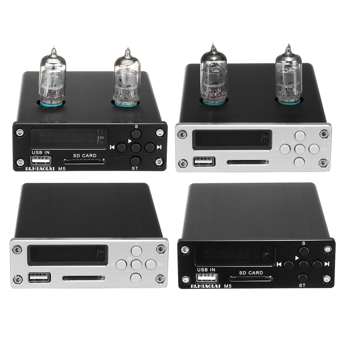 PJ.MIAOLAI M5 6J1 Вакуум Трубка Предварительно усилитель USB DAC Stereo HiFi Buffer Music Player 1TopShop