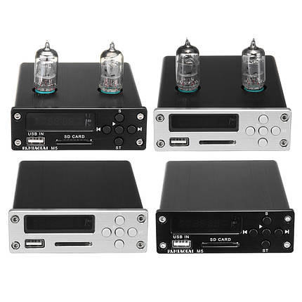 PJ.MIAOLAI M5 6J1 Вакуум Трубка Предварительно усилитель USB DAC Stereo HiFi Buffer Music Player 1TopShop, фото 2