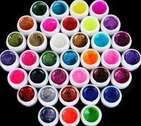 Набор цветных гелей перламутровых 36 шт по 5 мл